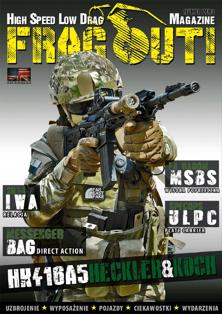Frag Out! Magazine #00 PL