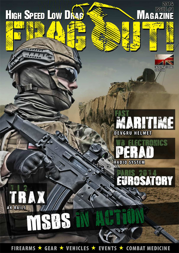 Frag Out! Magazine #01