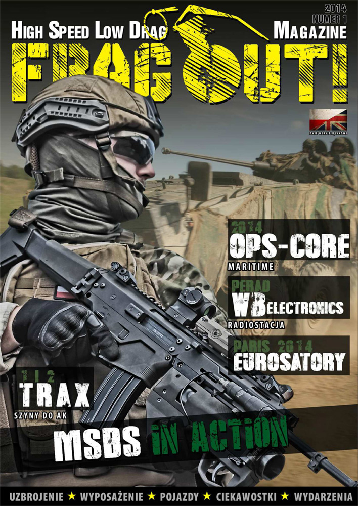 Frag Out! Magazine #01 PL