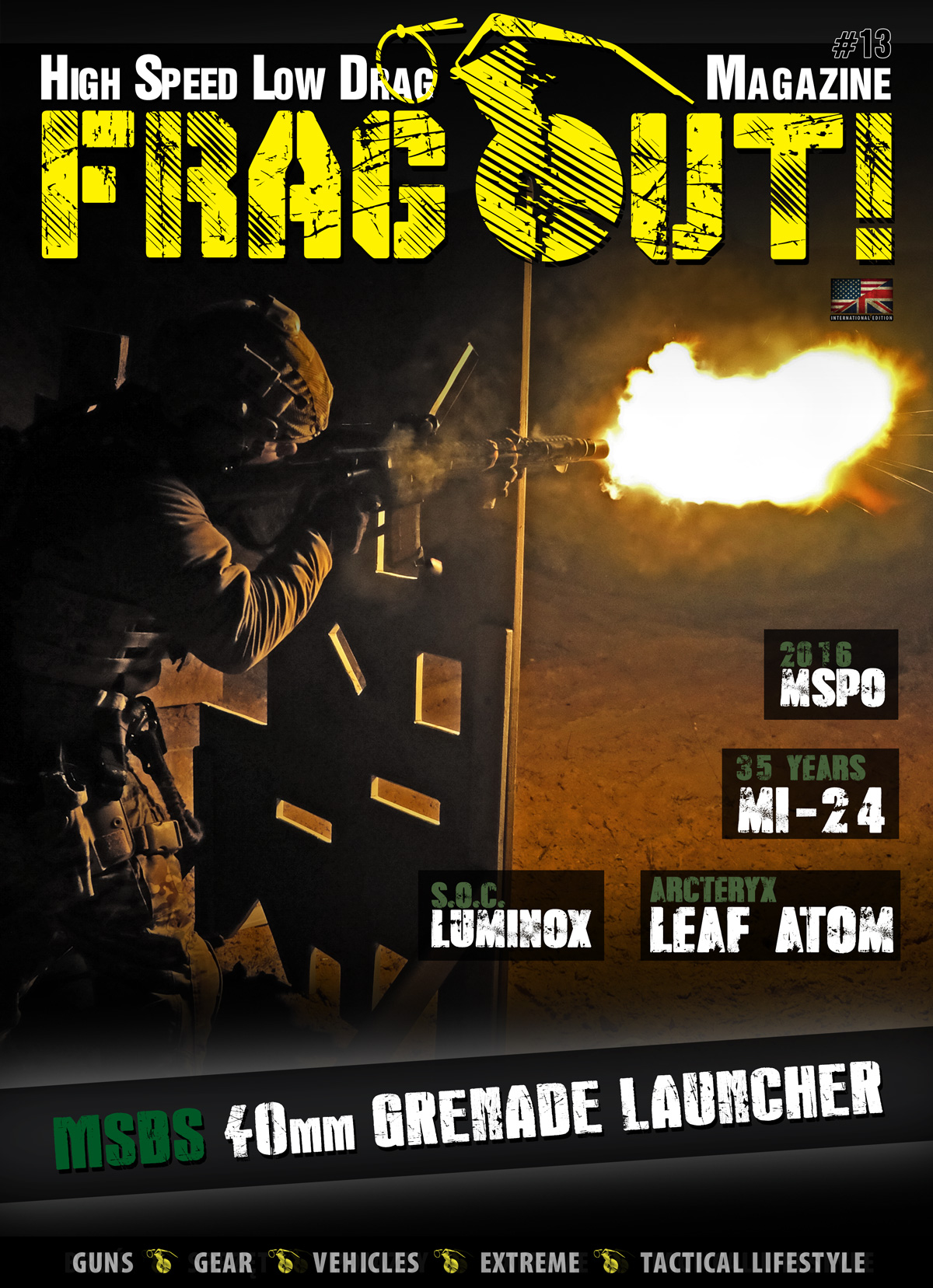 Frag Out! Magazine #13