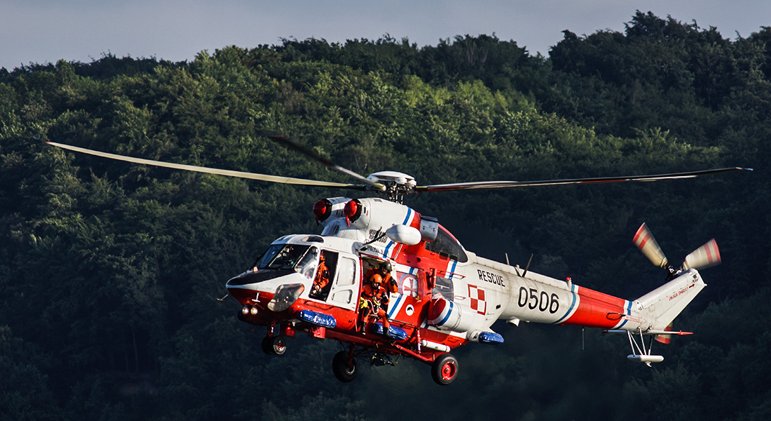 Frag Out! Magazine #15 - Polish Navy W-3 Anakonda Helicopters