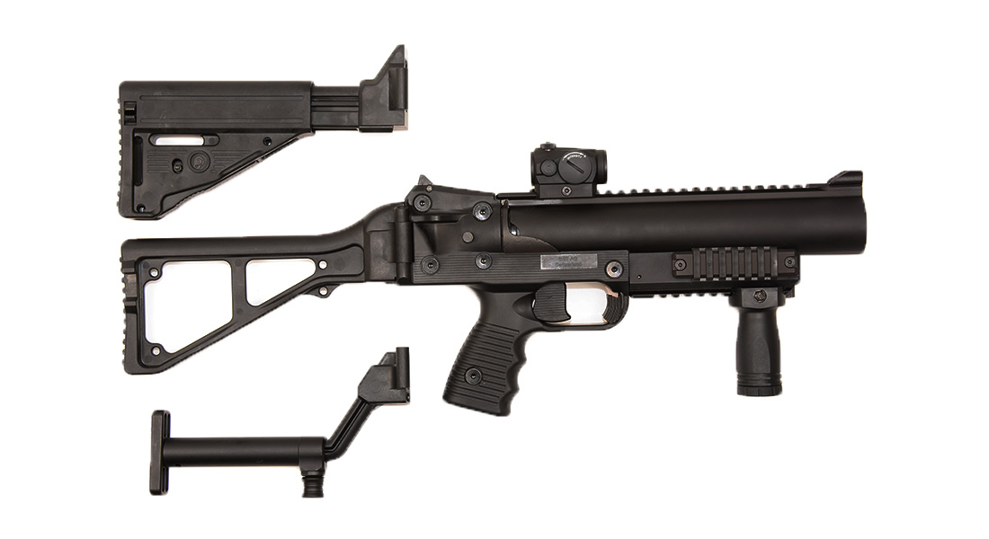 Frag Out! Magazine #15 - B&T GL06 40 mm Grenade Launcher