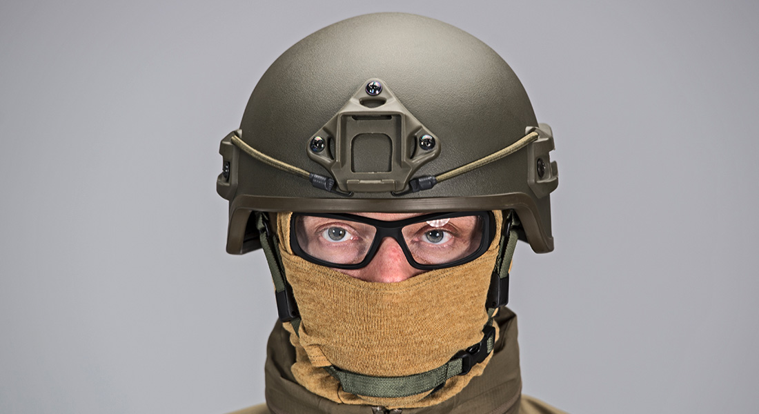 Frag Out! Magazine #15 - Maskpol HA-03 Paratrooper Helmet