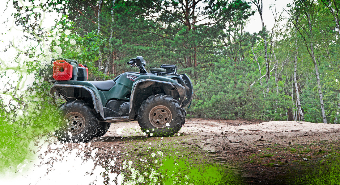Frag Out! Magazine #16 - Yamaha Grizzly FI 700 4x4 ATV