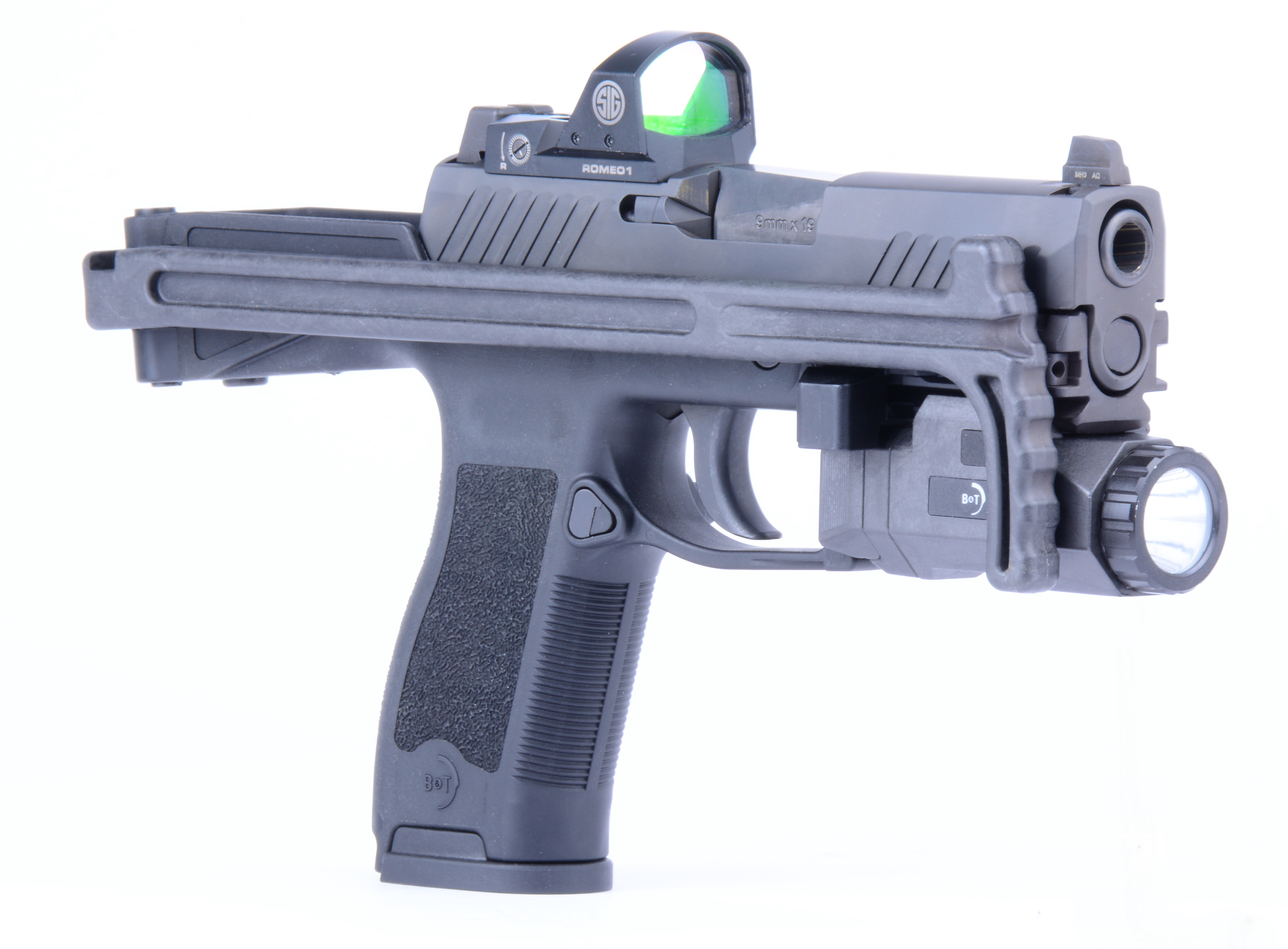 Enforce Tac & IWA 2018: New firearms from B&T   Frag Out