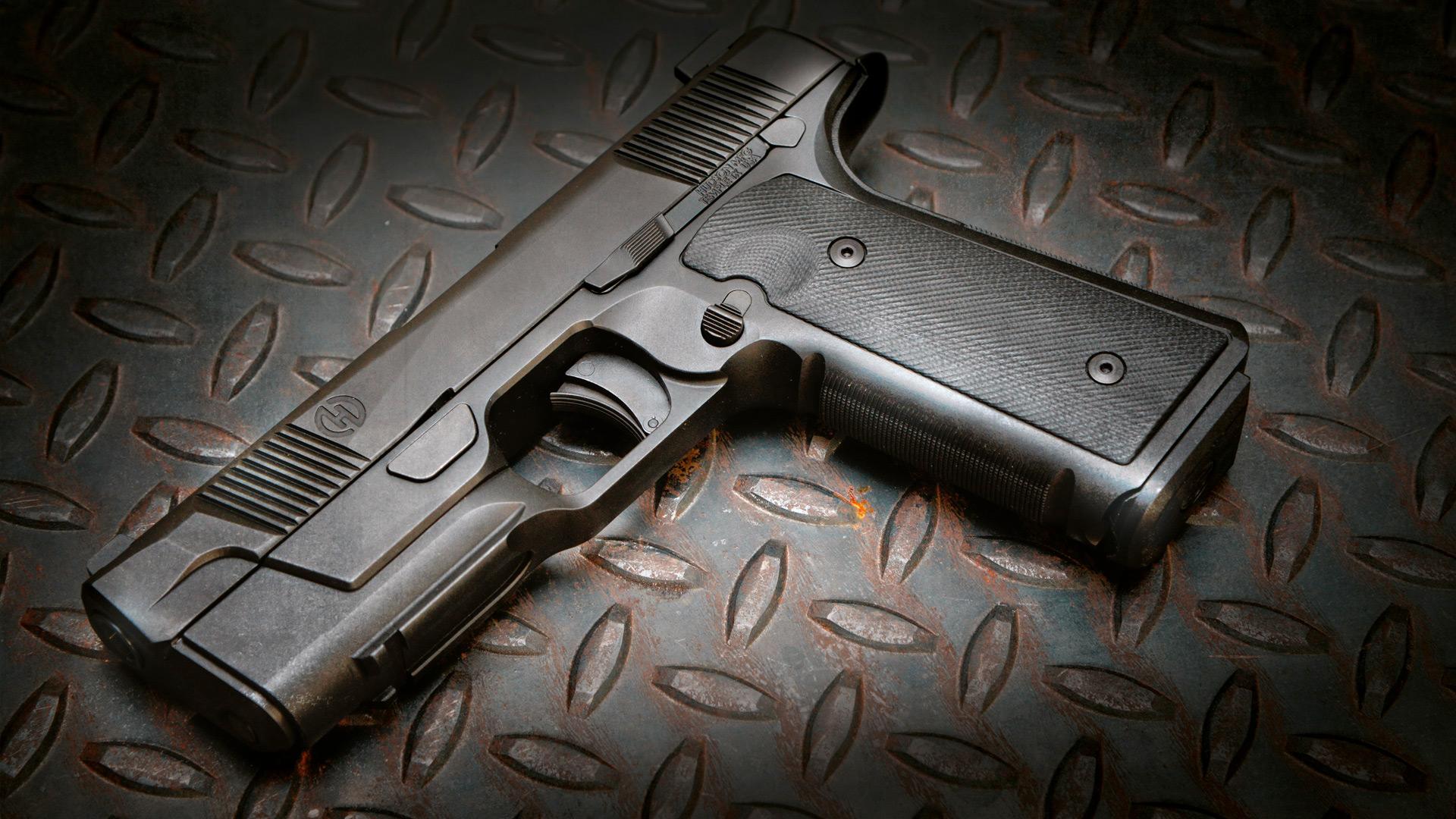 Hudson Mfg  H9 Pistol   Frag Out! Magazine