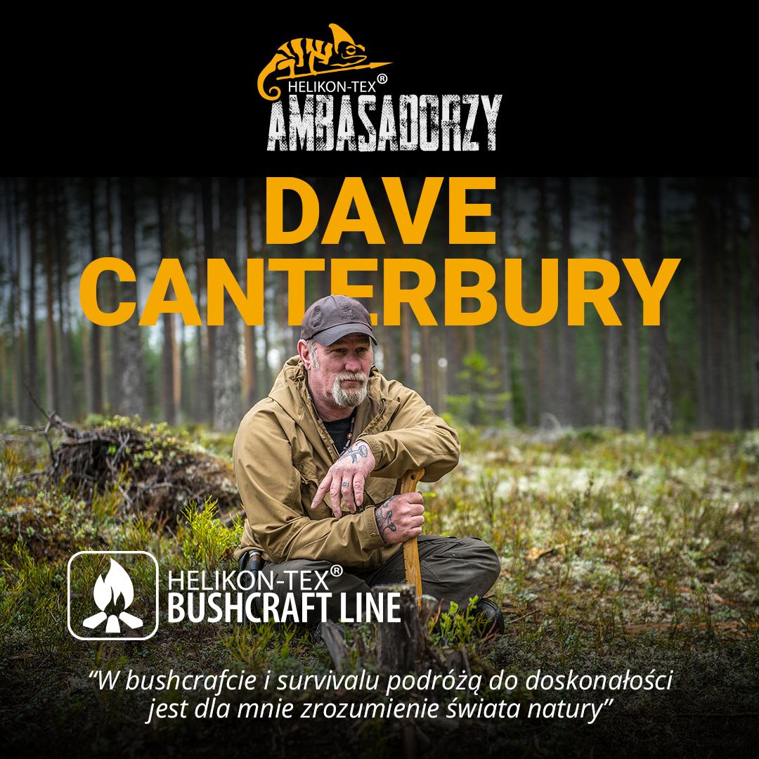 Ambasador Helikon-Tex: Dave Canterbury