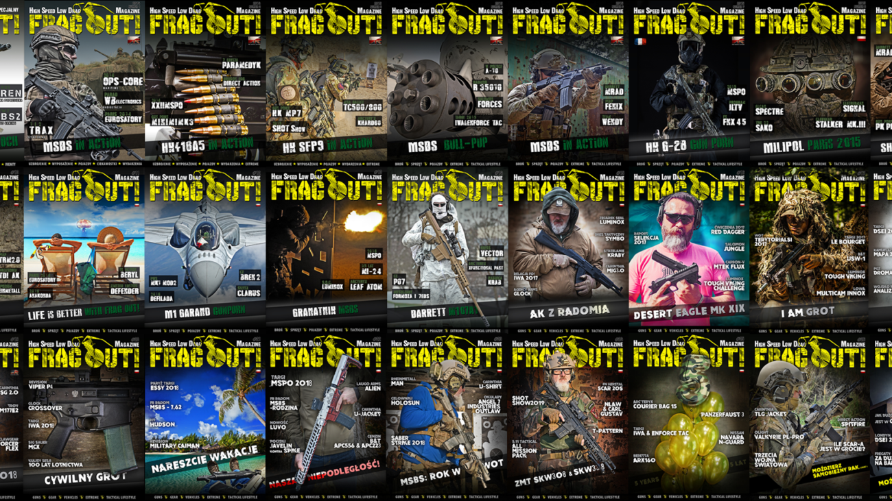 Frag Out Magazine - Covers