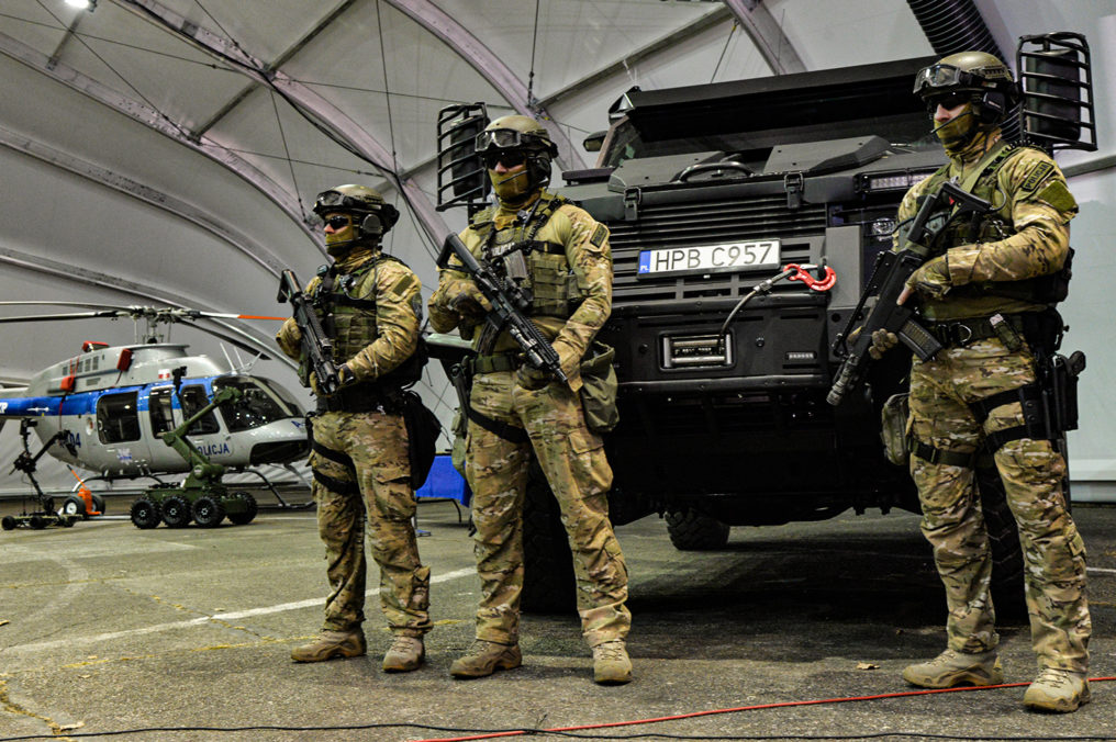 Nowy sprzęt Polskiej Policji