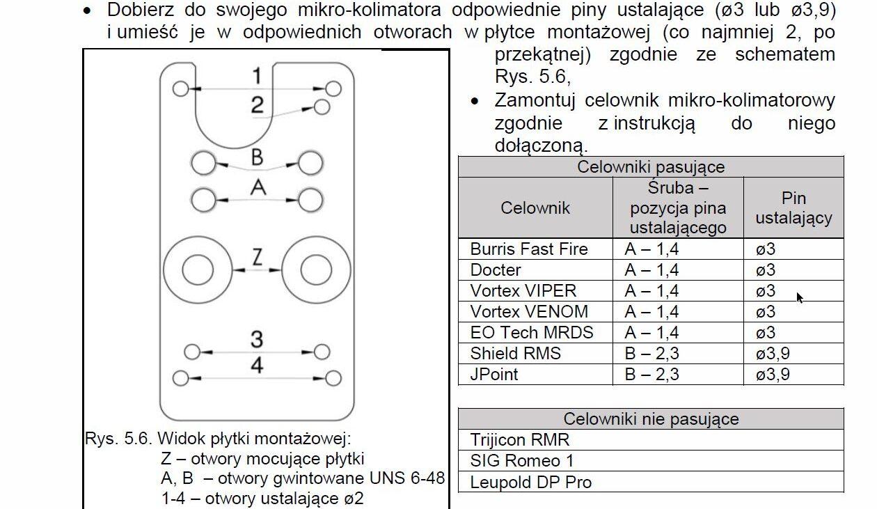 Fabryka Broni Łucznik-Radom VIS100 M-1 - kompatybilność
