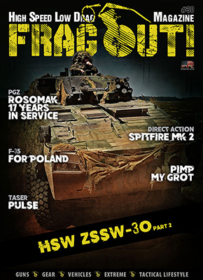 Current issue of Frag Out! Magazine