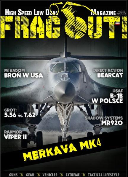 Aktualne wydanie Frag Out! Magazine